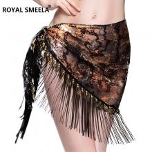 ROYAL SMEELA/皇家西米拉 肚皮舞埃及驳色三角巾 9758