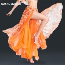 ROYAL SMEELA/皇家西米拉 肚皮舞花布雪纺裙子-6805