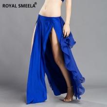 ROYAL SMEELA/皇家西米拉 双开氨纶雪纺摆裙 -6810