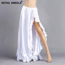 ROYAL SMEELA/皇家西米拉 色丁荷叶裙-6815